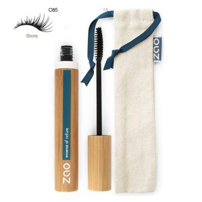 Ekologisk Volume Mascara - Svart 085 från Zao - Ekobay Store