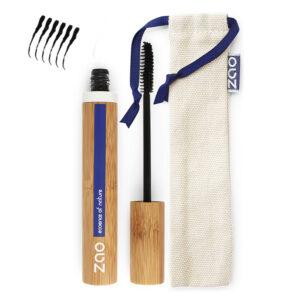 Ekologisk Strukturerande Mascara - Svart 090 från Zao - Ekobay Store
