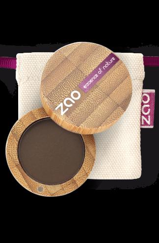 Ekologisk Ögonskugga matt - Mörkbrun 203 från Zao - Ekobay Store