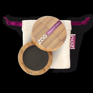 Ekologisk Ögonskugga matt - Svart 206 från Zao - Ekobay Store