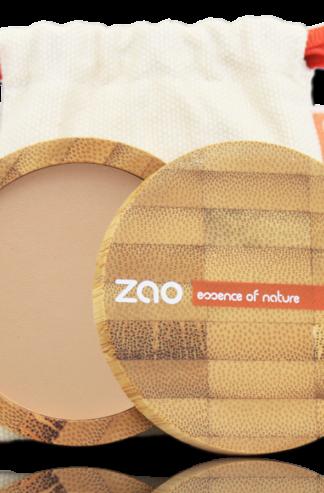 Ekologiskt Kompakt puder - Brun/beige 303 från Zao