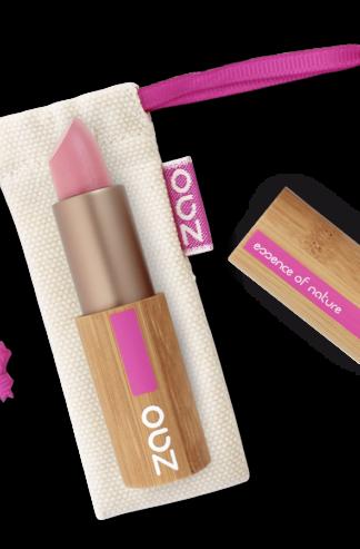 Ekologiskt Läppstift Rosa pärlemor 402 från Zao - Ekobay Store