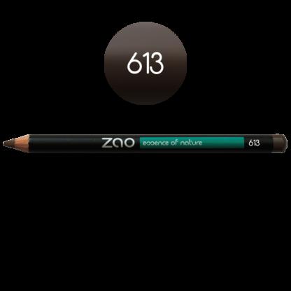 Ögonpenna Brun 613 för ögon och bryn från Zao - Ekobay store