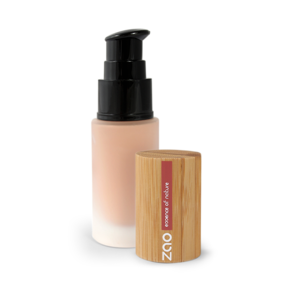 Silk Foundation Natural Beige 714 - Zao essence of nature