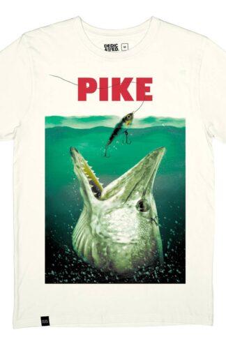 T-shirt vit, kille - Stockholm T-shirt Pike OffWhite – Dedicated Brand - Ekobay Store för en hållbar livsstil