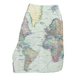 Badshorts i återvunnet material - Worldmap - Dedicated brand - Ekobay Store - För en hållbar livsstil