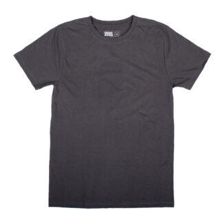 T-shirt Mörkgrå, kille - Sthlm Sideseam India Charcoal - Dedicated Brand