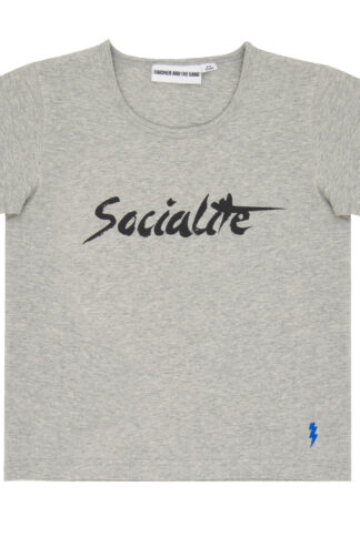 T-shirt grå The cool tee socialite - Gardner and the gang - Ekobay store för en hållbar livsstil
