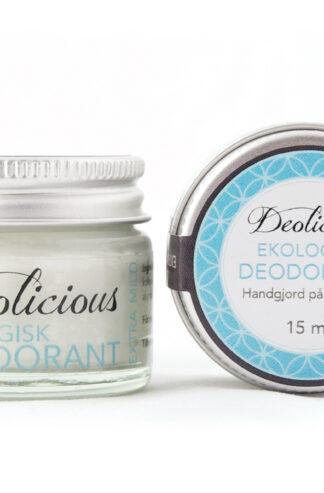 Ekologisk och giftfri deo – 15ml – Deolicious, Extra mild