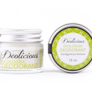 Ekologisk och giftfri deo – 15ml – Deolicious, Doft fri