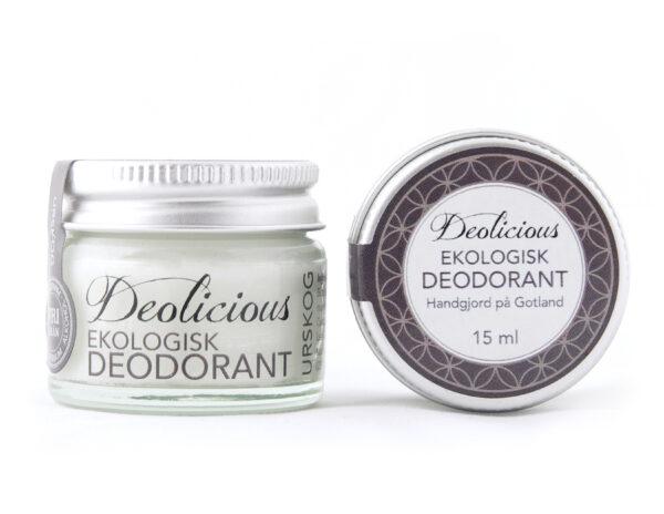 Ekologisk och giftfri deo – 15ml – Deolicious, Urskog - Ekobay Store