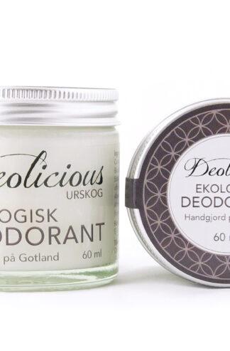 Ekologisk och giftfri deo – 60ml – Deolicious, Urskog - Ekobay store