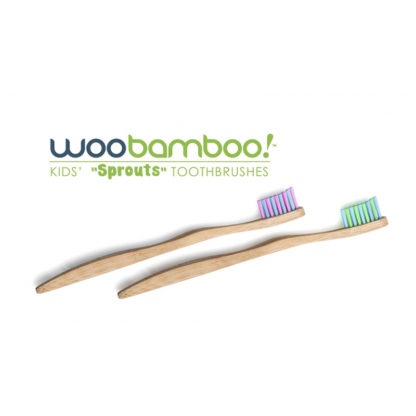 Ekologisk tandborste barn 2 pack från Woobamboo
