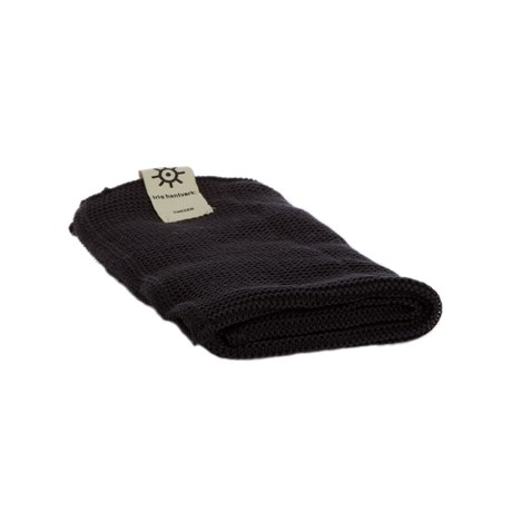 Handduk Grå 45x50 i ekologisk bomull från Iris hantverk - Ekobay Store för en hållbar livsstil