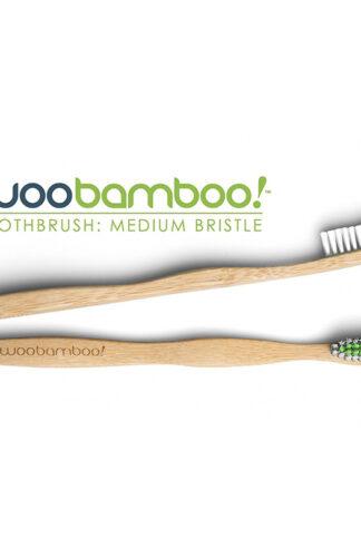 Ekologisk tandborste Vuxen Medium från Woobamboo
