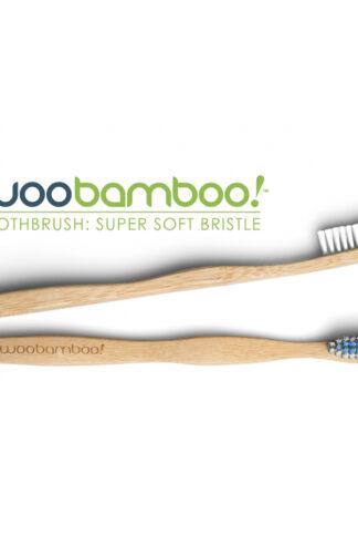 Ekologisk tandborste Super Soft Vuxen från Woobamboo