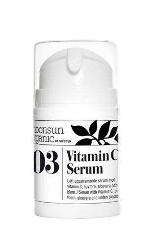 Ekologisk ansiktserum - Vitamin C Serum från Moonsun Organic - Ekobay Store