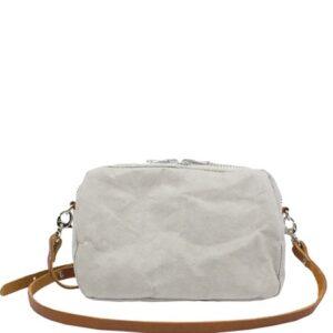 Ekologisk handväska i papp - UASHMAMA- Grey