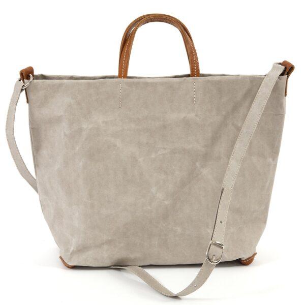 Miljövänlig handväska Grå - Uashmama - Ekobay Store - för en hållbar livsstil