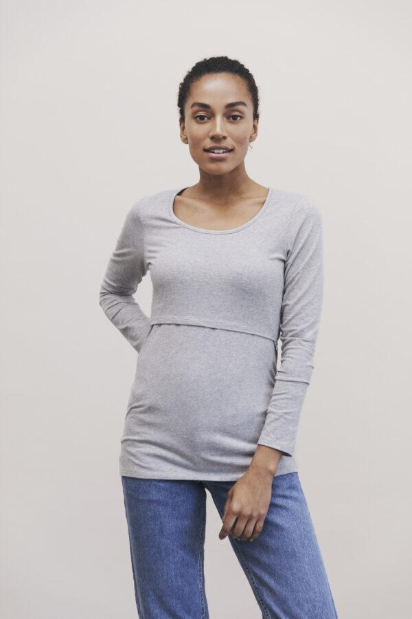 Gravid och amnings tröja från boob ekologisk och miljövänligt