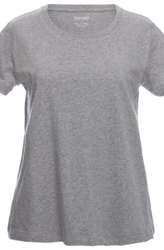 Grå T-shirt för gravida med smart amningsfuntion från Boob design
