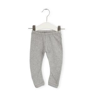 Ekologiska Leggings bebis - Melerad/grå - Imps & Elfs - Ekobay Store för en hållbar livsstil