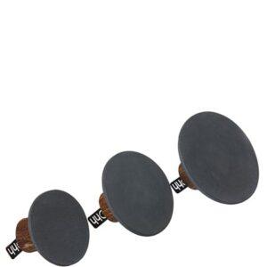 Miljövänliga Knoppar/hängare i 3 set mörkgrå