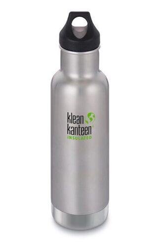 Miljövänlig vattenflaska, isolerad, 592ml med kork - Klean Kanteen