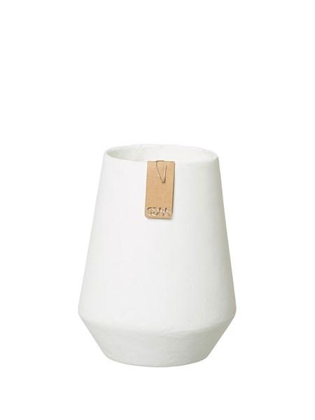 Miljövänlig Vas Tokyo vit i papp Medium - Ekobay Store för en hållbar livsstil
