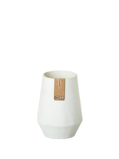 Miljövänlig Vas Tokyo vit i papp Small