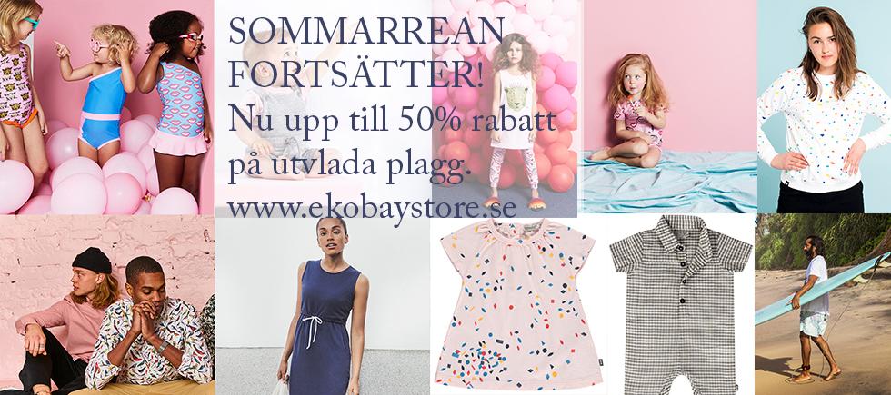 Sommarrea upp till 50% på utvalda plagg - Ekobay Store