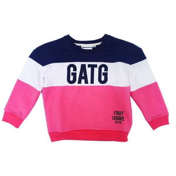 Långärmad tröja blå/röd/vit GATG-Gardner and the Gang