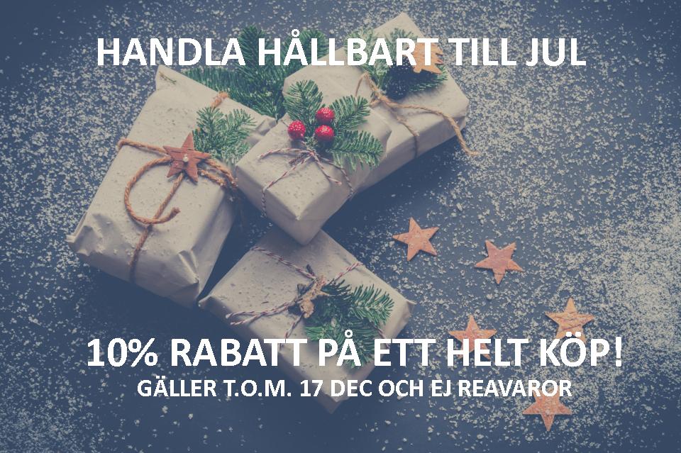 HÅLLBAR JUL 10% RABATT