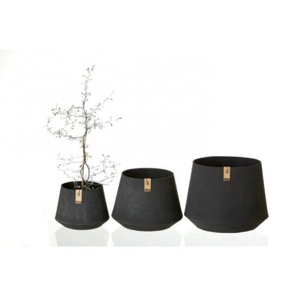 Miljövänlig Kruka Svart - OOhh collection